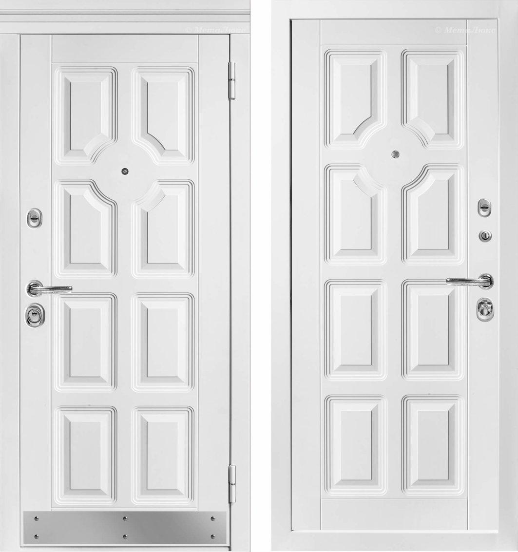 Металлические Белорусские двери МетаЛюкс