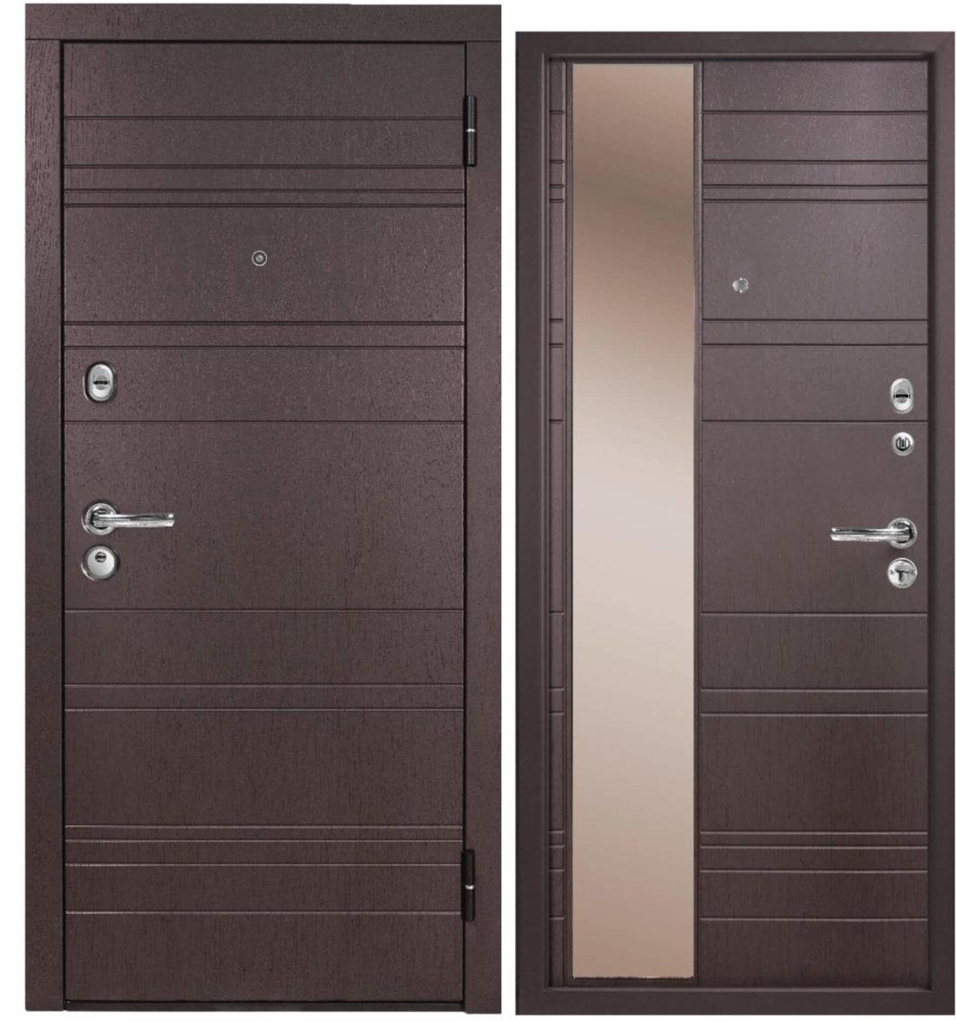 стальная входная дверь металюкс м701