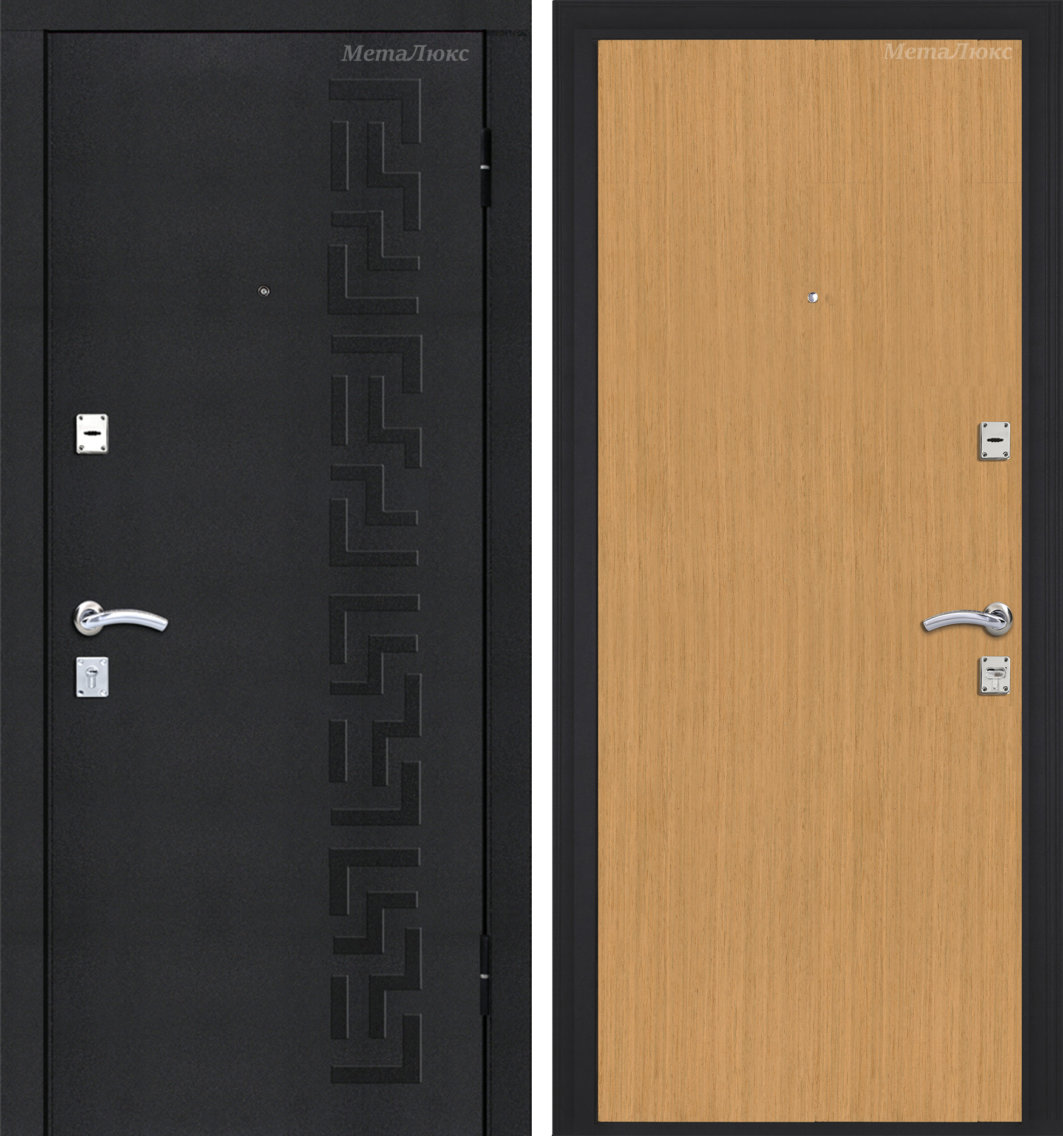 Стальная дверь Металюкс РФ