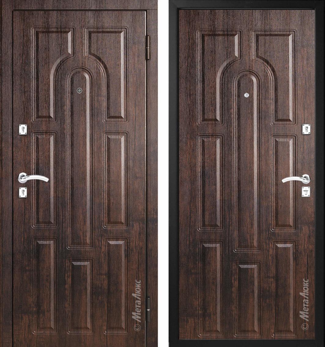 стальная дверь металюкс м303